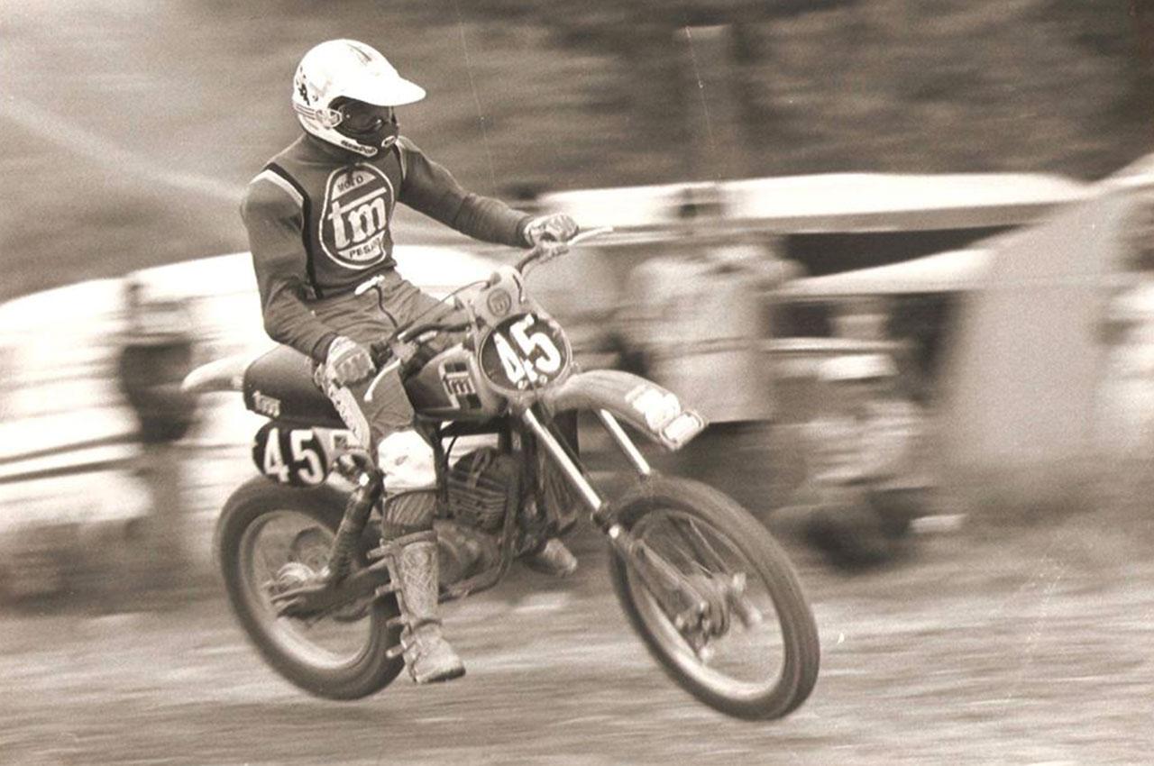Stefano Sbaffi em TM 125cc | 1979